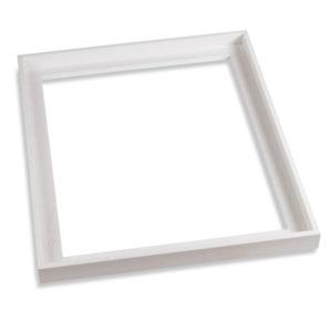 caisse américaine blanc pour toiles de 50x70cm.
