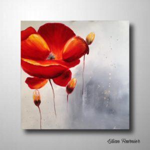 FLOWER 80X80 cm