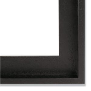 caisse américaine noir pour toiles de 60x60cm