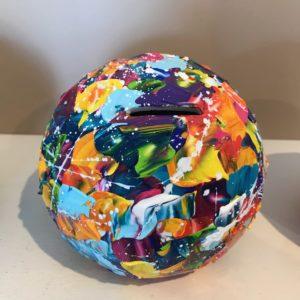 TIRELIRE multicolore